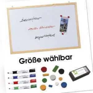 Franken Whiteboard Schreibtafel Memoboard Tafel Schreibwand weiß, magnetisch II