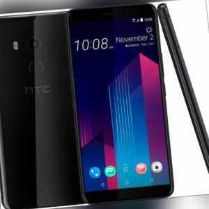 HTC U11+ 6 Zoll 128 GB DualSIM 12 MP Kamera 6 GB RAM schwarz B-WARE