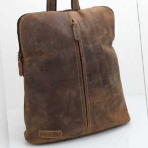 Bayern Bag® 2 in 1 Leder Rucksack und Umhängetasche Hunter Collection 1570