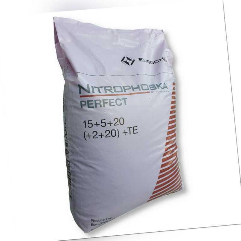 EuroChem Nitrophoska® Blaukorn perfect 25 kg Volldünger Gemüsedünger Obstdünger