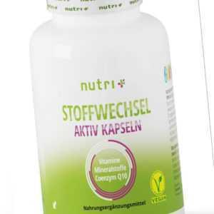 STOFFWECHSEL anregen & beschleunigen - 60 Kapseln (74,04€/100g) Diät & Abnehmen