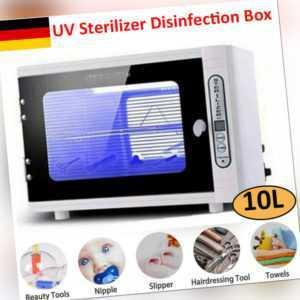 10L UV-Sterilisator Desinfektionsschrank Dental Ultraviolett-Sterilisationsbox