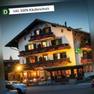 3 Tage Kurzurlaub im Hotel Alpenhof Wallgau in Oberbayern mit Frühstück