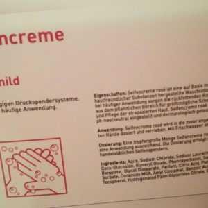 10L Seifencreme rose extra mild Premium Seife Handseife Cremeseife Spenderseife