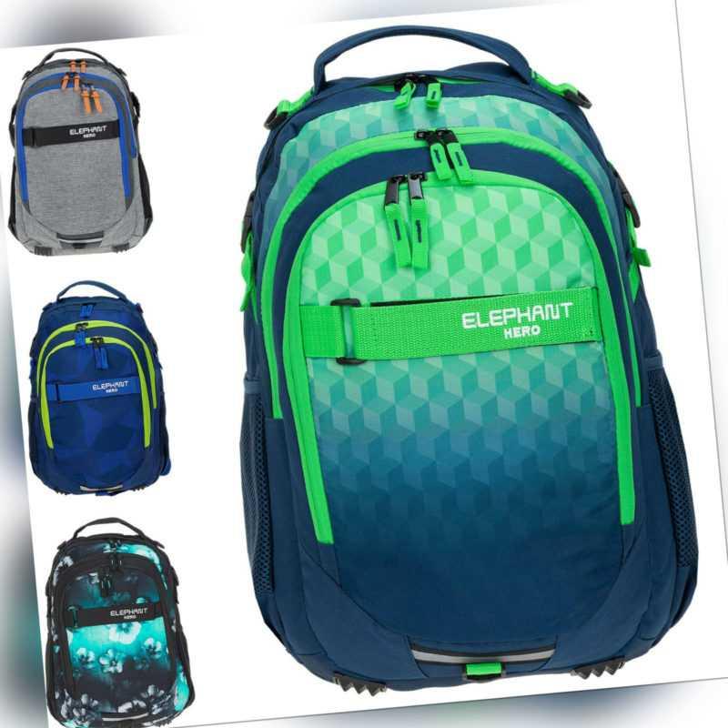 Schulrucksack Hero Signature Rucksack Jungen Schultasche Mädchen Tasche 30 Liter