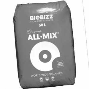 BioBizz All Mix Erde 50l | Pflanzsubstrat Pflanzerde