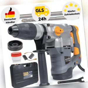 Bohrhammer Schlagbohrmaschine Schlagbohrer 2800W Meißelhammer SDS Max mit Koffer