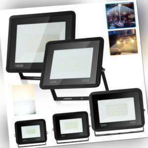 LED Fluter IP66 Ultradünn Strahler Flutlicht Gartenstrahler 10W - 100W