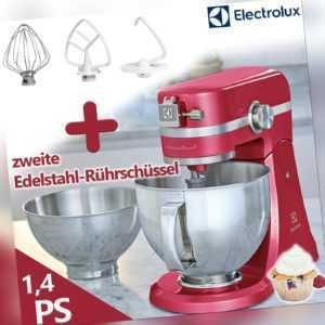 Electrolux Küchenmaschine Knetmaschine Rührmaschine 1000Watt pink ...
