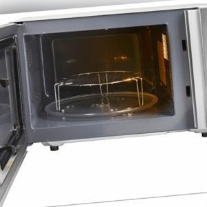 Hanseatic Mikrowelle AS823EBB-P Grill Heißluft 23 l 3-in-1 Gerät...