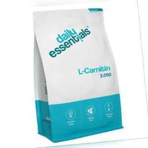 L-Carnitin 3000 - 500 Tabletten (Vegan) F-Burn / Diät / Abnehmen Hochdosiert