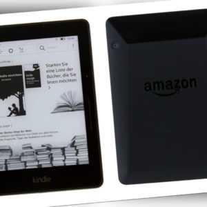 Amazon Kindle Voyage 4GB WLAN (6 Zoll) - Schwarz - Wie Neu #588