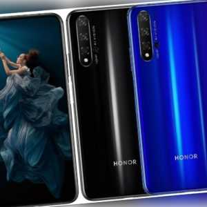 "Honor 20 DualSim 128GB LTE Android Smartphone 6,26"" Display 48 Megapixel"