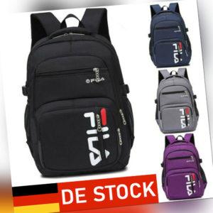 Herren Damen Schulrucksack Sport Freizeit Rucksack Reise Wandern Arbeit Backpack