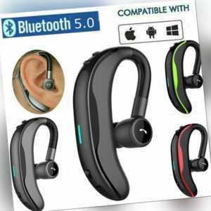 Bluetooth 5.0 Kopfhörer Ohrhörer In-Ear Sport Headset Für Android iOS Handy