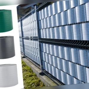 HART PVC Sichtschutzstreifen Doppelstabmatten Zaun Blende Gittermatten QUEST®