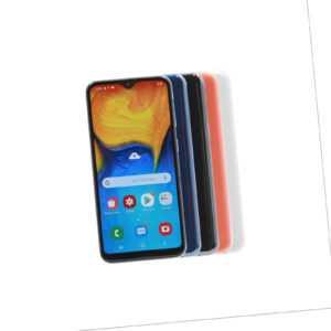 Samsung Galaxy A20e / 32GB / Schwarz Blau Weiß Coral / Händler DE...
