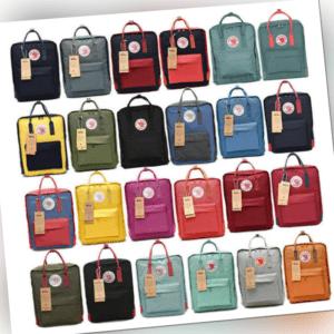 Fjällräven Kanken Rucksack Schule Sport Backpack Freizeit Trend Tasche Original