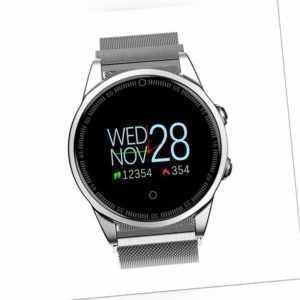 Smartwatch R13 Herzfrequenz Puls Uhr Blutdruck Fitness Tracker Smartband Sport