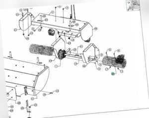 original MTD Kehrbürste für Optima PS 700 / BLK 7065 Kehrmaschine 727-05057