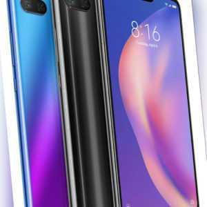 Xiaomi Mi 8 lite Smartphone (64GB 4GB RAM 6,26 Zoll Dual SIM 12MP Kamera)