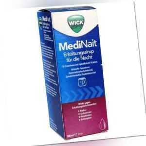 WICK MediNait Erkaeltungssaft 180 ml PZN: 1689009