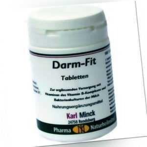 2x Karl Minck Darm Fit 100 Tabletten Vitamin B Komplex Folsäure Reinkulturen 501