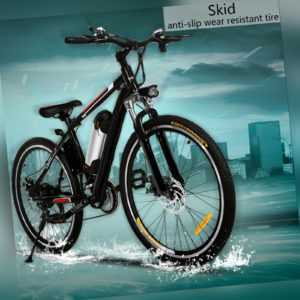 Elektro Fahrrad 26 zoll Mountainbike Bergbike Bergfahrrad E-Bike Pedelec 35km/h