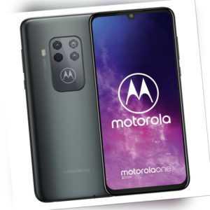 "Handy Smartphone Motorola One Zoom 4/128GB Dual SIM 6,4"" 2340 x..."