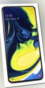 Samsung Galaxy A80 - 128GB - Phantom Black Ohne Simlock Dual-SIM...