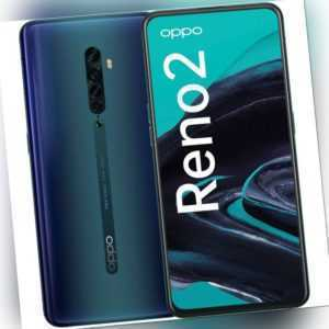 Oppo Reno2 8GB RAM 256GB Blue Android Smartphone Handy ohne...