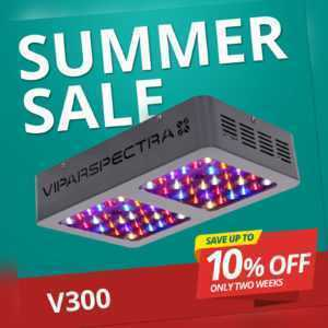 VIPARSPECTRA Reflector 300W LED Grow Light Pflanzenlampe Für Zimmerpflanze Lamp