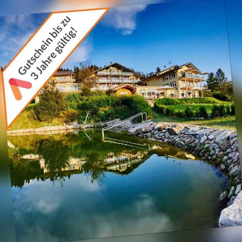 Wellness im Bayerischen Wald 4* Hotel Reblingerhof Gutschein 2 Personen 4 Tage