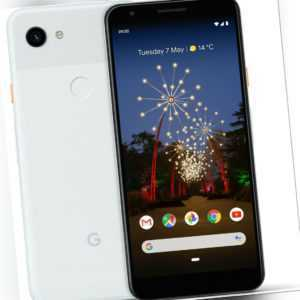 Google Pixel 3a XL Clearly White, TOP Zustand