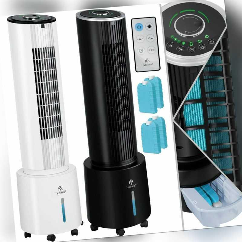 KESSER® 4in1 mobile Klimaanlage Timer Klimagerät Luftkühler Ventilator Ionisator; EEK A+++
