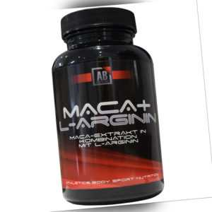 Maca + L-Arginin + Ginseng hochdosiert 120 Kapseln Athletics Body