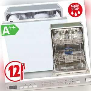 Geschirrspüler A++ Einbau Spülmaschine Spüler vollintegrierbar...