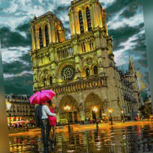 """Schipper 609130817 Die Kathedrale """"Notre-Dame in Paris"""" Malen nach Zahlen"""