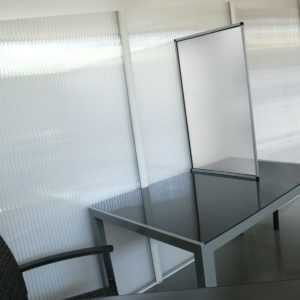 Gutta Trennwand | Schutzwand | 500 x 1000 mm