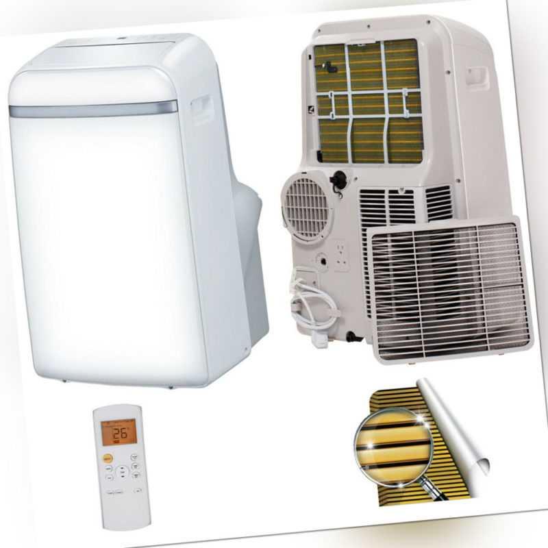 Mobile Klimaanlage Lokales Klimagerät mit Golden-Fin SMNDP-12 12000 btu 3,5kW; EEK A++