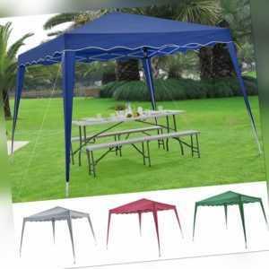 Faltpavillon Pavillon Partyzelt Popup 3x3 m Stahl Gartenzelt Festzelt ArtLife®