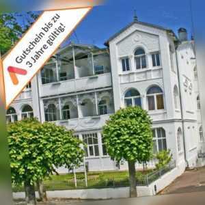 Kurzreise Rügen Sellin 4 Tage Villa Apartment mit Frühstück Sauna für 2 Personen