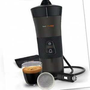 Handcoffee KFZ Auto mobile Kaffeemaschine für Kaffeepads 12 Volt...