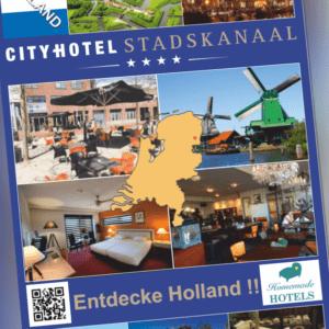 TOP Angebot - Kurztrip-Niederlande im City Hote Stadskanaal 4* 2/3T ÜF 2P