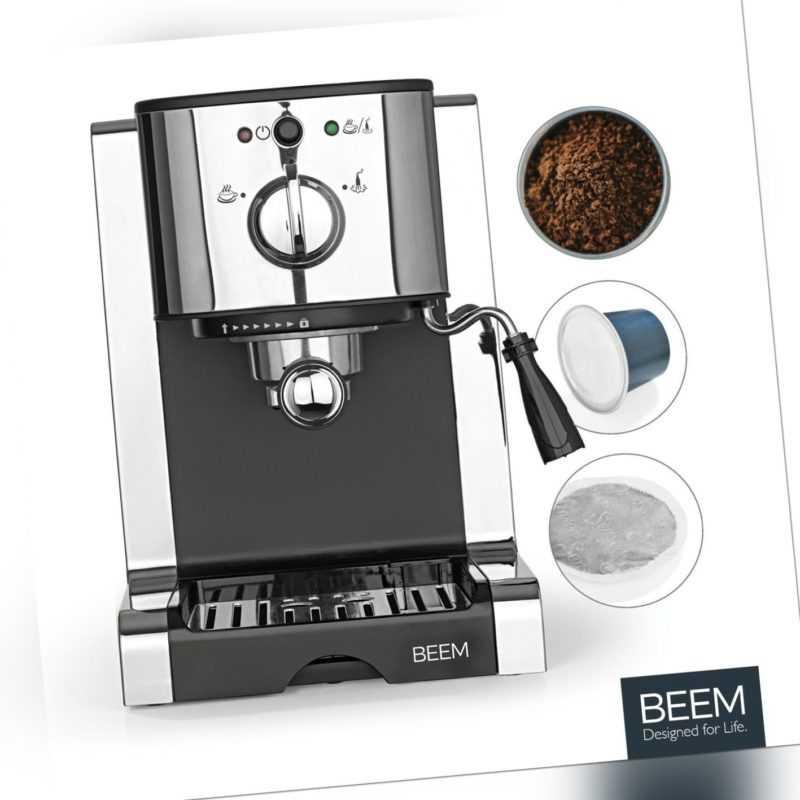 Espressomaschine Siebträger Siebträgermaschine 20 bar Espresso...