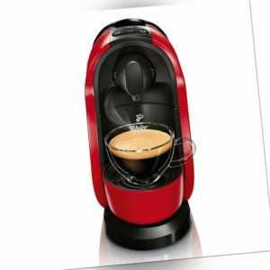 Tchibo Cafissimo Pure Kaffee Kapselmaschine, Red