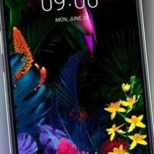 LG G8s ThinQ Dual-SIM LMG810EAW mirror black - SIEHE BESCHREIBUNG...