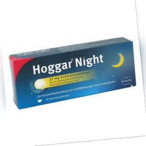 Hoggar Night 25 mg Schmelztabletten 10stk PZN 14144151
