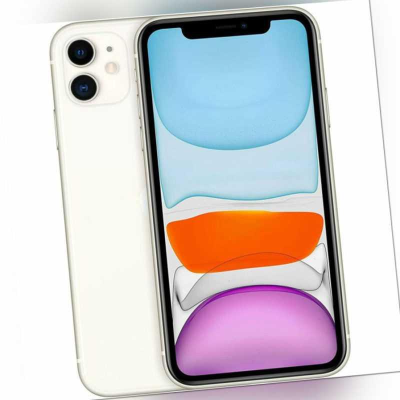 Apple iPhone 11 - 64GB - Weiß A2221 (CDMA + GSM) BRANDNEU