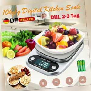 10kg/1g Küchenwaage Digital Waage Gramm Waag Präzisionswaage Briefwaage dhl tw